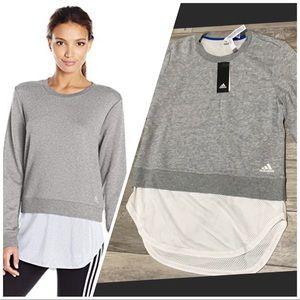 Adidas layer sweatshirt